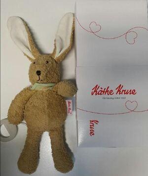 Käthe Kruse Spieluhr Hase Pino 25cm 26337