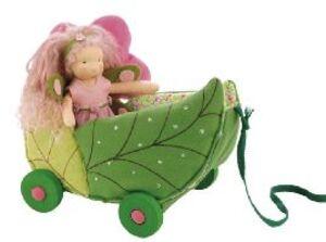 Käthe Kruse Waldorfwagen mit Libelle ** 6138716