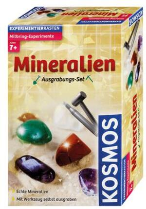 KOSMOS Ausgrabungsset Mineralien, d ab 7 Jahren, mit glitzernden Edelsteinen zum ausgraben 630447