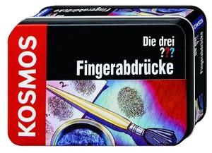 KOSMOS Die drei??? Fingerabdrücke d Detektiv-Set in kleiner Metalldose, ab 8 Jahren 61070231