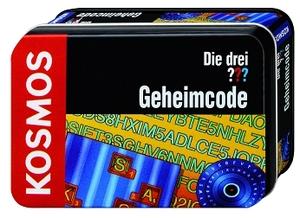 """KOSMOS Detektiv Set Geheimcode in Metalldose, ab 8 Jahren, aus der Serie """"Die drei ???"""" 61070048"""