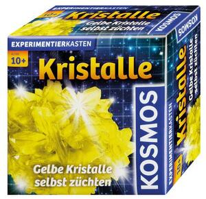 KOSMOS Kristalle züchten, gelb, d Experimentierkasten, ab 10 Jahren 656065
