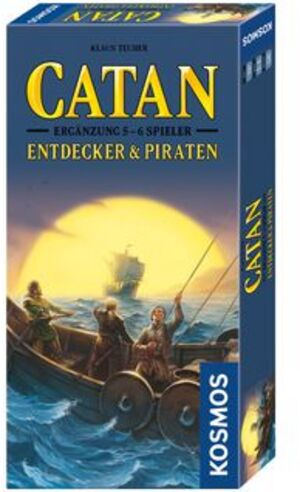 KOSMOS Catan: Entdecker & Piraten 2-4 Spieler *Neu* 693411