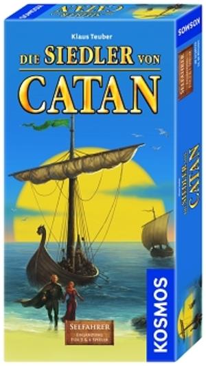 KOSMOS Catan Seefahrer, d Erweiterung zum Basisspiel Catan für 5-6 Spieler 61070518