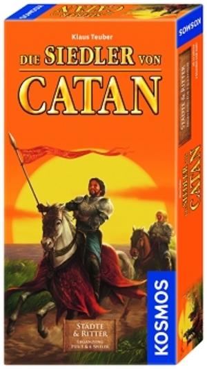 KOSMOS Catan Städte und Ritter, d Erweiterung zum Basisspiel Catan für 5-6 Spieler 61070514