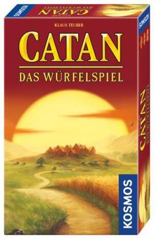 KOSMOS Catan Das Würfelspiel, d ab 7 Jahren, 1-4 Spieler 699093