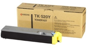 KYOCERA Toner Kit, yellow TK-520Y