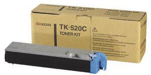 KYOCERA Toner Kit, cyan TK-520C