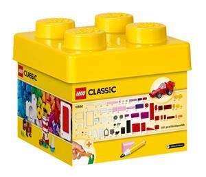 LEGO Bausteine-Box klein Lego Classic, 221 tlg, mit Ideenheft 10692