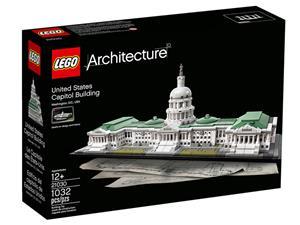 LEGO Das Kapitol Lego Architecture, ab 12 J. H: 16 cm, B: 44 cm 21030