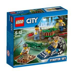 LEGO Sumpfpolizei Starter-Set Lego City, 5-12 Jahre 60066A1