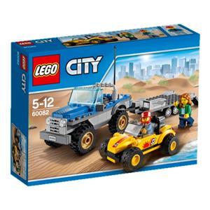 LEGO Strandbuggy mit Transporter Lego City, 5-12 Jahre 60082