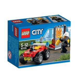 LEGO Feuerwehr-Buggy Lego City, 5-12 Jahre 60105A1