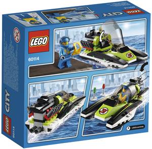 LEGO Rennboot Lego City, 5-12 Jahre 60114