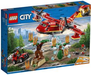 LEGO Löschflugzeug der Feuerwehr Lego City, 363 Teile, ab 5+ 60217A2