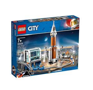 LEGO Weltraumrakete mit Kontrollzentrum 60228A1