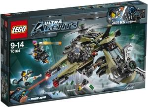 LEGO Hurrikan-Überfall Lego Agents, 9-14 Jahre 70164