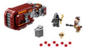 LEGO Rey's Speeder Lego Star Wars Episode 7, 7-12 Jahre 75099