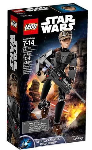 LEGO Sergeant Jyn Erso Lego Star Wars, 7-14 Jahre 75119