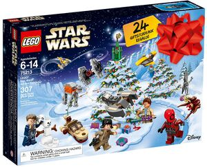 LEGO Adventskalender Star Wars II Lego Star Wars, 307 Teile, ab 6 Jahren 75213