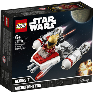 LEGO Widerstands Y-Wing Micro- fighter, Lego Star Wars, 86 Teile, ab 6 Jahren 75263A1
