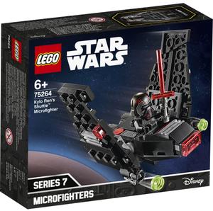 LEGO Kylo Rens Shuttle Micro- fighter, Lego Star Wars, 72 Teile, ab 6 Jahren 75264