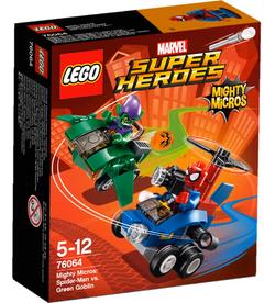 LEGO Spider-Man vs. Green Goblin Mighty Micros, Lego DC Super Heroes, 5-12 Jahre 76064A1