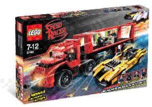 LEGO Cruncher Block & Racer X 8160