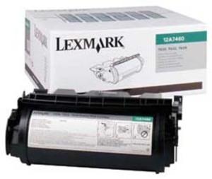 Lexmark Lexmark Toner Prebate, black 12A7460