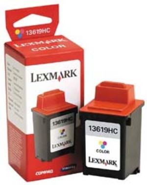 Lexmark 13619HC Tintenpatronen farbig, 300s<br> (farbig Lexmark Tintenpatrone farbig 300 Seiten ) 13619HC