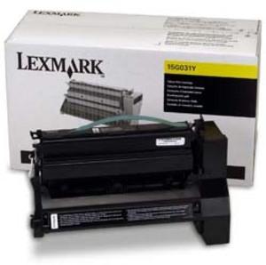 Lexmark LEXMARK Toner gelb f.C752/C760 15G031Y