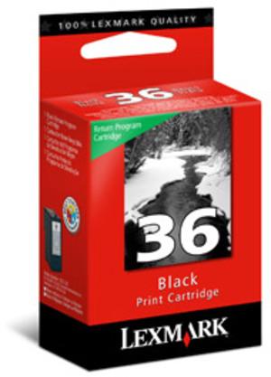 Lexmark Tinte schwarz Nr. 36A Z2420 18C2150E