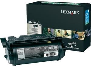 Lexmark Toner Prebate, black 64416XE