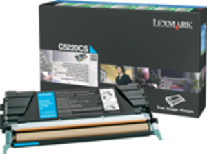 Lexmark Toner Prebate, cyan C5220CS