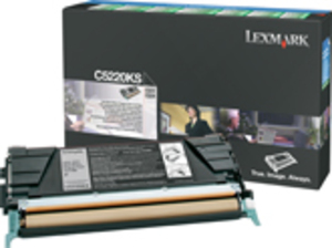 Lexmark Toner Prebate, black C5220KS