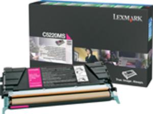 Lexmark Toner Prebate, magenta C5220MS