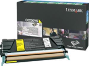 Lexmark Toner Prebate, yellow C5220YS