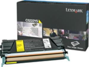 Lexmark Toner gelb C524/532/534 C5242YH