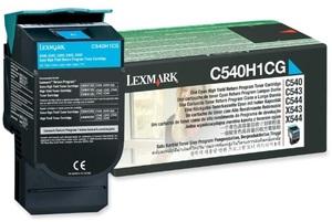 Lexmark Toner-Modul Return cyan C540H1CG