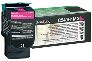 Lexmark Toner-Modul Return magenta C540H1MG