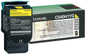 Lexmark Toner-Modul Return yellow C540H1YG