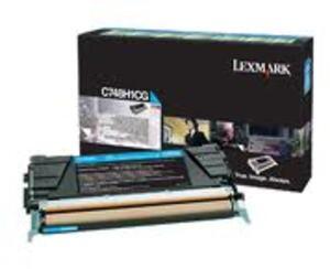 Lexmark Toner-Modul HY return cyan C748H1CG