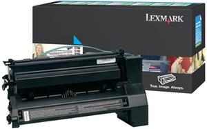 Lexmark Toner-Modul return cyan C780A1CG