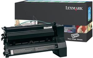 Lexmark Toner-Modul return schwarz C780A1KG