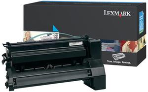 Lexmark Toner cyan C780N 10K C780H2CG