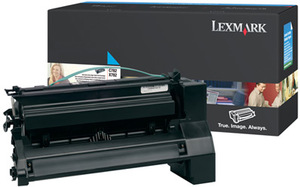 Lexmark Toner cyan f. C782/X782 C782X2CG