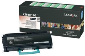 Lexmark Toner-Modul HY return schwarz X264H11G