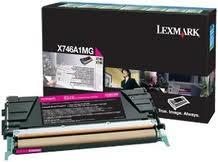 Lexmark Toner-Modul return magenta X746A1MG