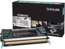Lexmark Toner-Modul return schwarz X746H1KG