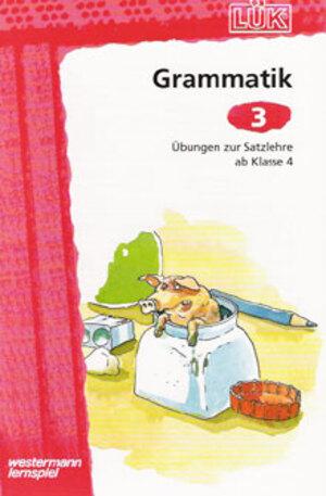 LÜK Lük Grammatik 3: Satzlehre 65900837